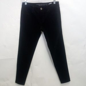 AMERICAN EAGLE OUTFITTERS Black Corduroy Jegging